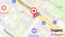 Гостиница Старый Невский на карте