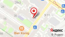 Мини-гостиница Ленинградское Время на карте
