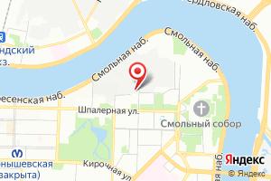 Адрес ГУП Водоканал Санкт-Петербурга на карте