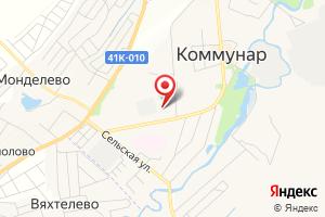 Адрес Газпром, газораспределение на карте