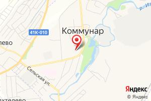 Адрес Газпром межрегионгаз Санкт-Петербург, абонентский пункт в г. Коммунар на карте