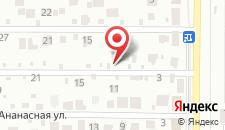 Хостел Garden на карте