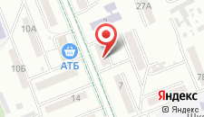 Отель Адлер на карте