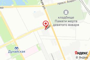 Адрес ГУП Водоканал Санкт-Петербурга, филиал Транспорт и логистика на карте