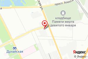 Адрес ГУП Водоканал Санкт-Петербурга, спецавтобаза № 1 на карте