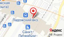 Гостиница Smart hotel КДО Ладожский на карте