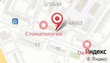 Отель Казацкий на Антонова на карте
