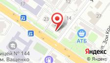 Отель Обериг на карте