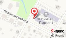 Отель Павловск на карте