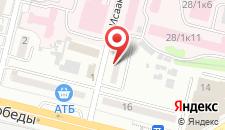 Апартаменты KievCentre KPI Apartments на карте
