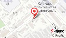 Гостиница Богданов Яр на карте