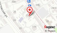 Хостел На Вокзальном на карте