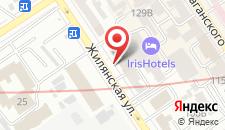 Отель Iris на карте