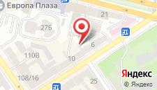 Апартаменты возле Железнодорожного вокзала Киев-Пассажирский на карте