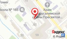 Апарт-отель Тисо на карте
