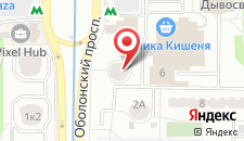 Апартаменты Apartments On Obolonska Square на карте