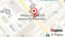 Отель Атташе на карте