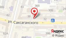 Апартаменты Apartments Saksahanskoho 36 на карте