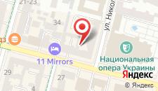 Апартаменты Opera на карте