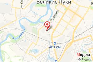 Адрес Южные электрические сети 1-й район электросетей, Псковэнерго, МРСК Северо-Запада на карте