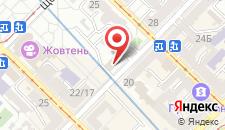 Отель Домус на карте