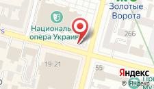 Апартаменты Киев Центр Опера на карте