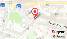 Апартаменты на Стрелецкой 4 на карте
