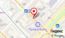 Хостел На Контрактовой площади на карте