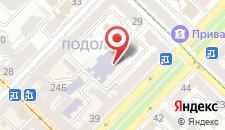 Апартаменты Home Hotel Apartments on Kontraktova Ploshcha на карте