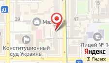 Апартаменты Центр 2 на карте