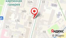 Апартаменты Home Hotel Apartments on Lva Tolstogo на карте
