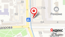 Хостел Олимпийский на карте