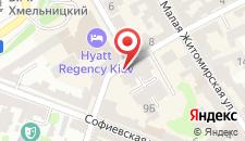 Апартаменты на Михайловском на карте