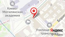 Отель Radisson Blu Hotel Kyiv Podil на карте