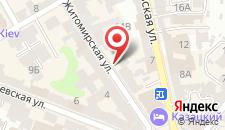 Апартаменты на Малой Житомирской на карте