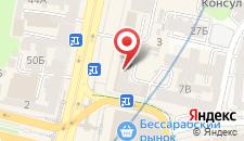 Апартаменты UKR в центре на карте