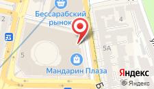 Апартаменты Luxrent apartments на Бессарабрке на карте