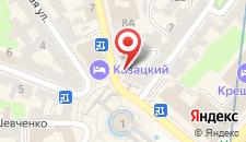 Апартаменты Апартаменты Киев на Михайловской на карте