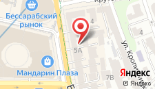 Апартаменты Alex на карте