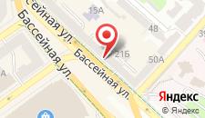 Гостевой дом Шевченко на карте