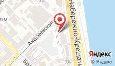 Апартаменты Набережная-Подол Центр на карте