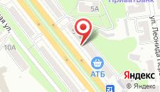 Апартаменты Люксрент Апартаменты на Л.Украики на карте