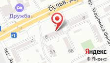 Хостел Yourhostel Friend на карте
