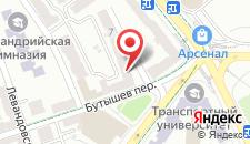 Апартаменты Lavra-Arsenal Apartment на карте