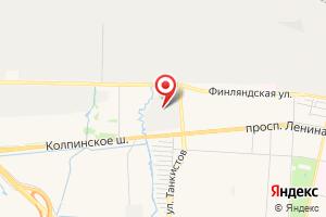 Адрес Электрическая подстанция Колпинская на карте