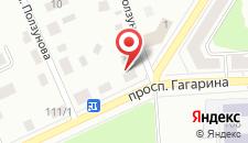 Апартаменты На Гагарина на карте