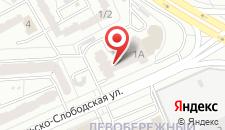 Апартаменты Домашний Уют Никольско-Слободская на карте