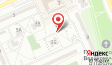 Апартаменты на Левобережной на карте
