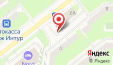 Отель NORD на карте