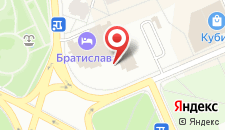 Отель Братислава на карте